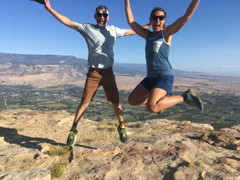 Pictured above, former SHS teacher Nick Griffin and his wife Kimberly Griffin leap for joy atop a mesa. Nick left SHS with plans to teach at a school in Bolivia before Covid-19 hit and interrupted his plans.