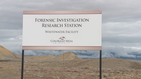 Pictured above is the entrance to the CMU forensic investigation research station, also known as a body farm.