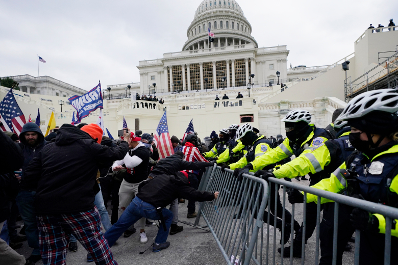 Trump+supporters+clash+with+police+outside+the+United+State+Capitol.+The+riot+occurred+after+a+DC+rally+held+by+President+Trump.